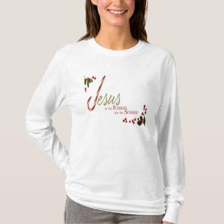 Jesus is the Reason Ladies Long Sleeve Shirt