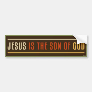 Jesus Is The Son of God Bumper Sticker