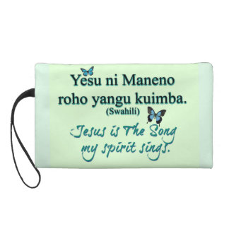 Jesus is The Song (2 languages) Wristlet