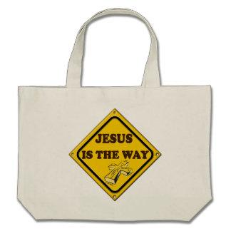 JESUS IS THE WAY CANVAS BAG