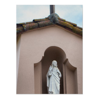 Jesus Is There 17 Cm X 22 Cm Invitation Card