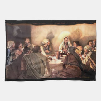 Jesus kitchen hand towel