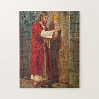 Jesus knocks On The Door Jigsaw Puzzle