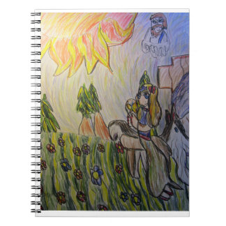 Jesus light never leave notebook