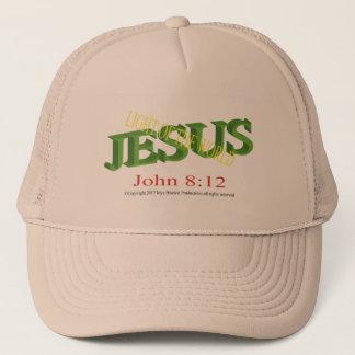 Jesus Light of the World baseball/trucker cap