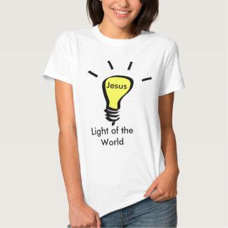 Jesus - Light OF the World Tee Shirts