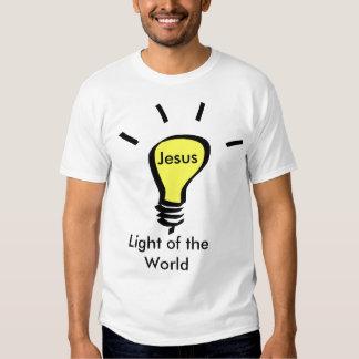 Jesus - Light OF the World Tees