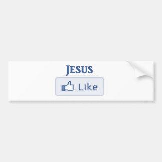 Jesus Like Bumper Sticker