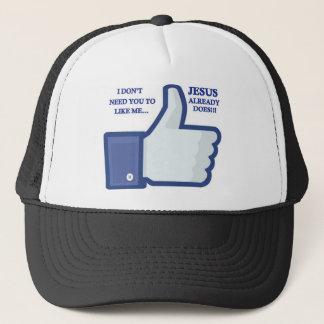 Jesus Likes Me Trucker Hat