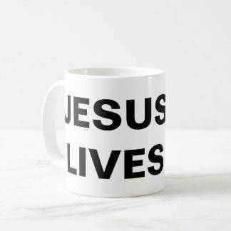 """""""Jesus Lives"""" Classic Mug"""