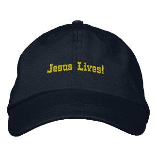 Jesus Lives Embroidered Hat