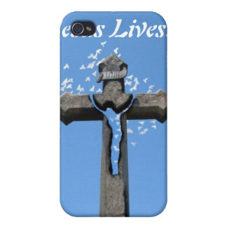Jesus Lives! iPhone 4/4S Cover
