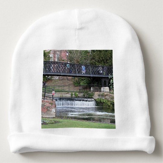 Jesus Lock footbridge, Cambridge Baby Beanie