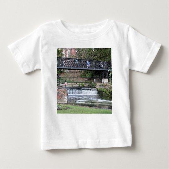 Jesus Lock footbridge, Cambridge Baby T-Shirt