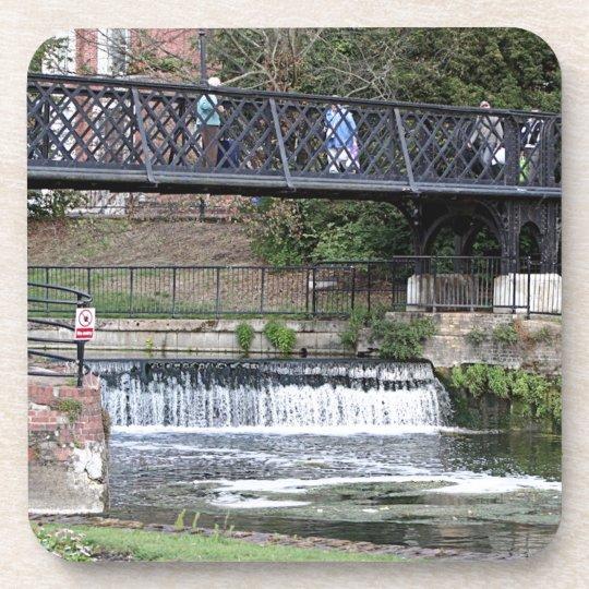 Jesus Lock footbridge, Cambridge Beverage Coaster