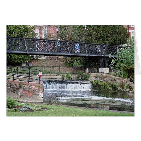 Jesus Lock footbridge, Cambridge Card