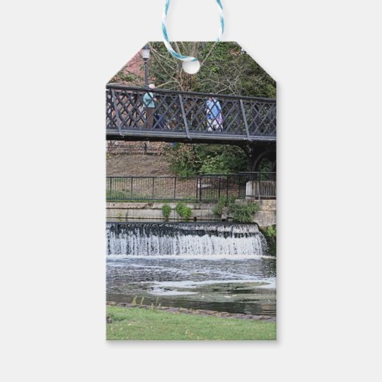 Jesus Lock footbridge, Cambridge Gift Tags