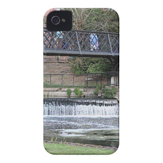Jesus Lock footbridge, Cambridge iPhone 4 Case