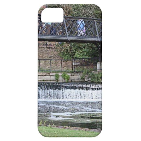 Jesus Lock footbridge, Cambridge iPhone 5 Covers