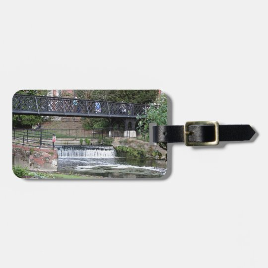 Jesus Lock footbridge, Cambridge Luggage Tag