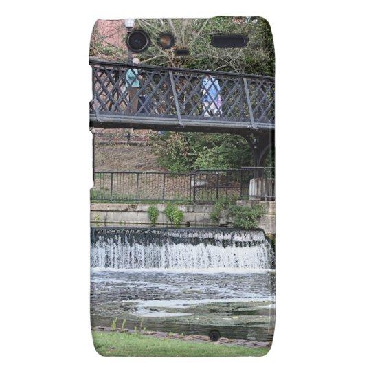 Jesus Lock footbridge, Cambridge Motorola Droid RAZR Covers