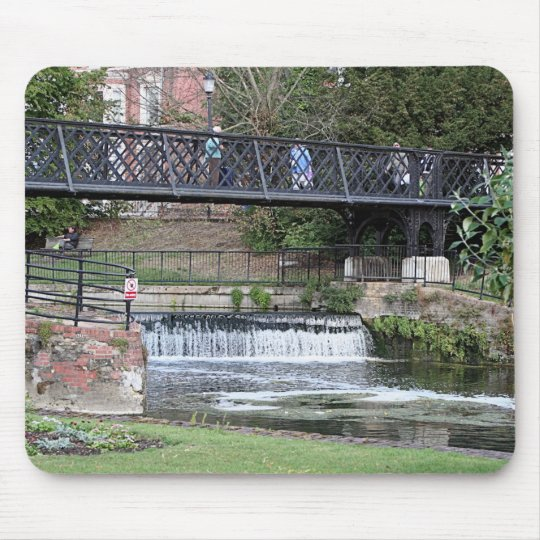 Jesus Lock footbridge, Cambridge Mouse Pad