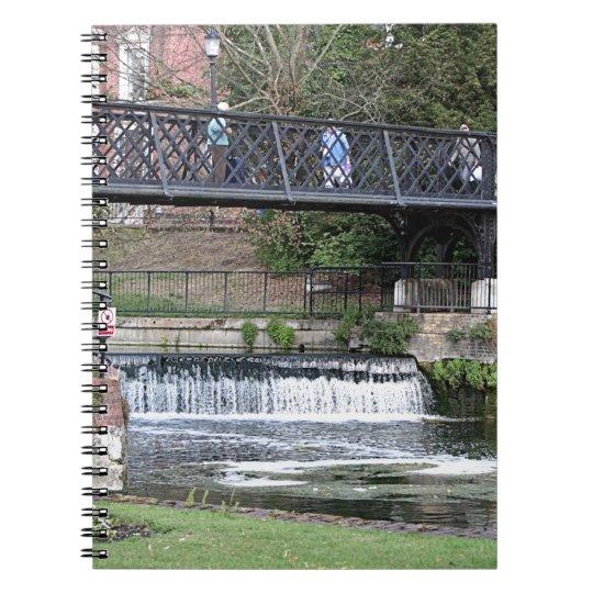 Jesus Lock footbridge, Cambridge Notebook