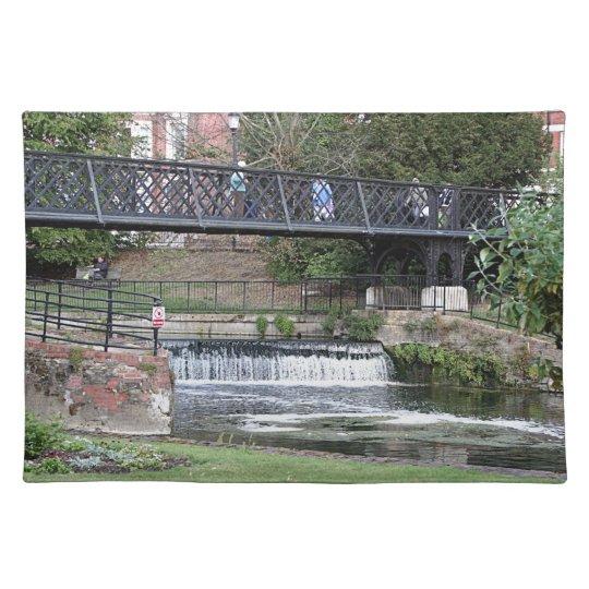 Jesus Lock footbridge, Cambridge Placemats