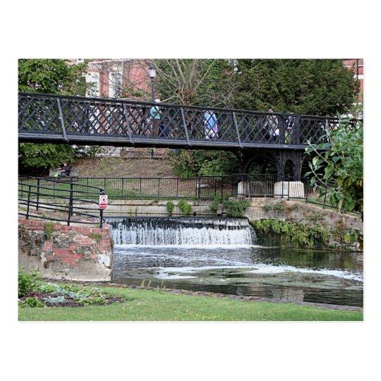 Jesus Lock footbridge, Cambridge Postcard