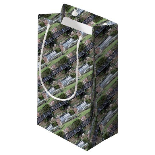 Jesus Lock footbridge, Cambridge Small Gift Bag