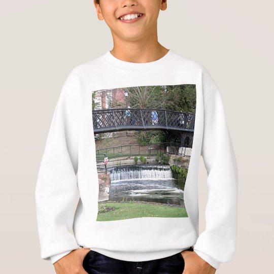Jesus Lock footbridge, Cambridge Sweatshirt