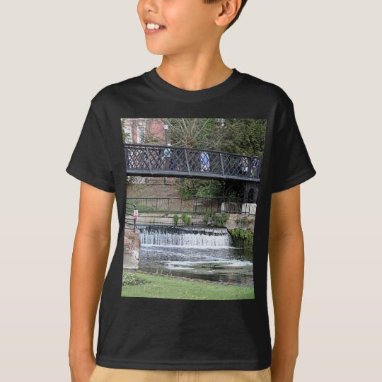 Jesus Lock footbridge, Cambridge T-Shirt