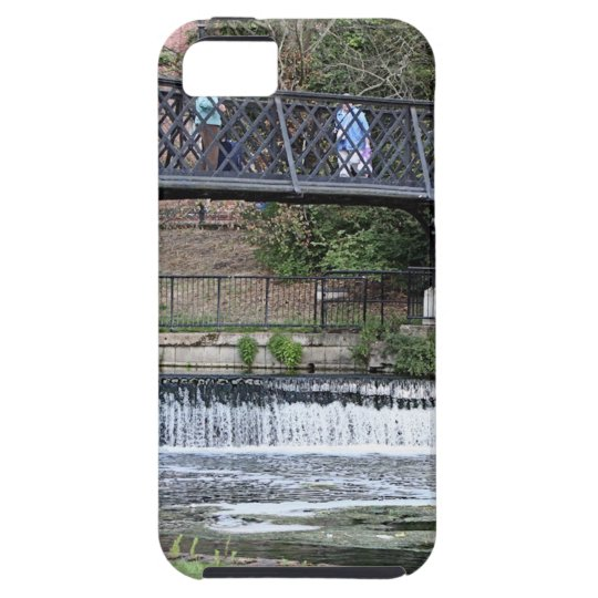 Jesus Lock footbridge, Cambridge Tough iPhone 5 Case