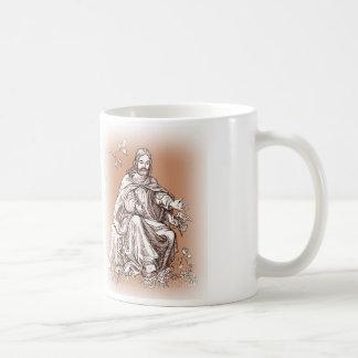 Jesus Lord of Creation Cup Basic White Mug