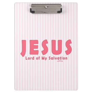 Jesus, Lord of My Salvation (Christian Faith) Clipboards