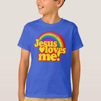 Jesus Love Me Classic Vintage Grunge Christian T-Shirt