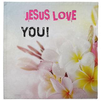 JESUS LOVE NAPKIN