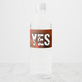 JESUS 'love Water Bottle Label