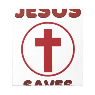 Jesus loves, Christ Christianity Religion Cross.pn Notepad