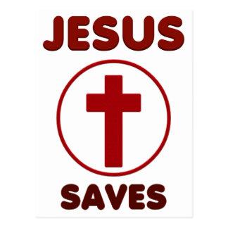 Jesus loves, Christ Christianity Religion Cross.pn Postcard
