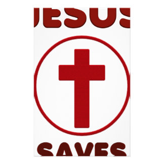 Jesus loves, Christ Christianity Religion Cross.pn Stationery