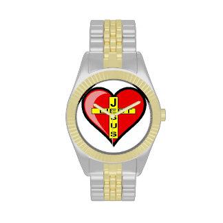 Jesus loves - Jesus loves Wrist Watch