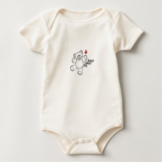 Jesus Loves Me, baby! Baby Bodysuit