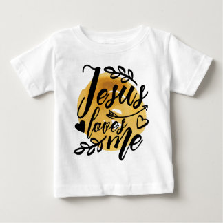 Jesus Loves Me Baby T-Shirt