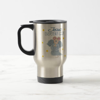 Jesus Loves Me, Boy Coffee Mug