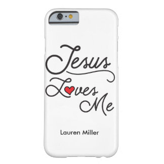 Jesus Loves Me iPhone case