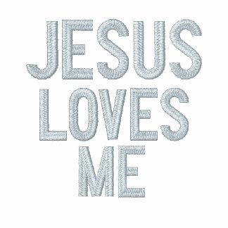Jesus loves me Jesus loves you -Ladies Long Sleeve