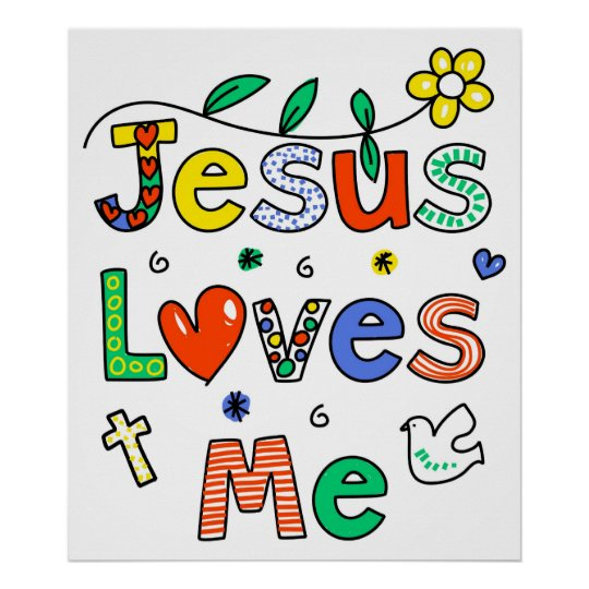 Image result for jesus loves me poster
