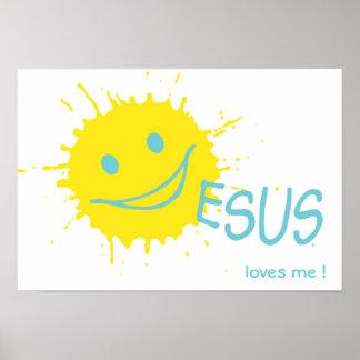 Jesus loves me ! Poster