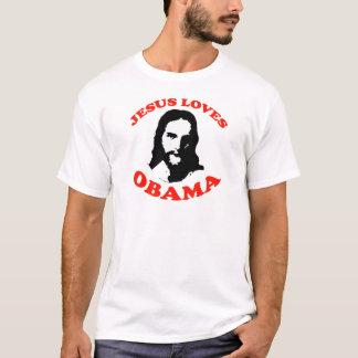 JESUS LOVES OBAMA --.png T-Shirt